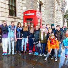 Mortimer-Schüler und Freunde im Herbst 2014 unterwegs in England